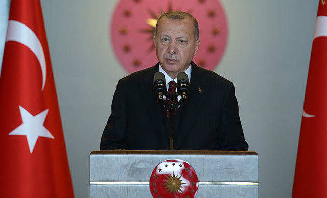 """Erdoğan: """"We will always protect the legitimate rights of the Turkish Cypriots"""" 15"""