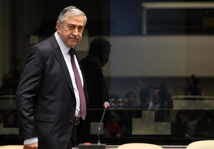 """Akinci wishes for tension to be eliminated in """"open agenda"""" meeting with Anastasiades 1"""