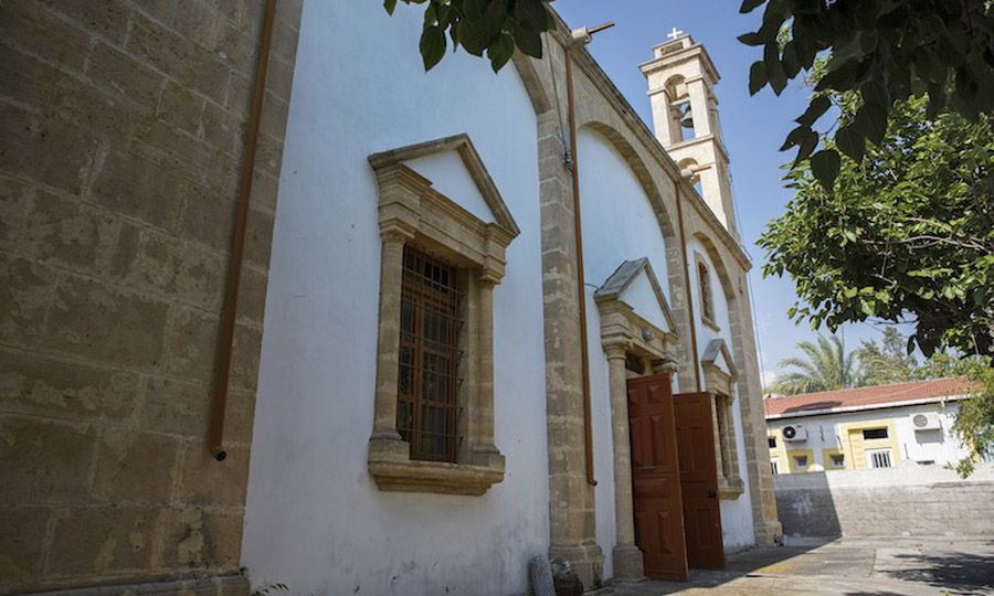 Russian church in North Cyprus rocks the boat 1