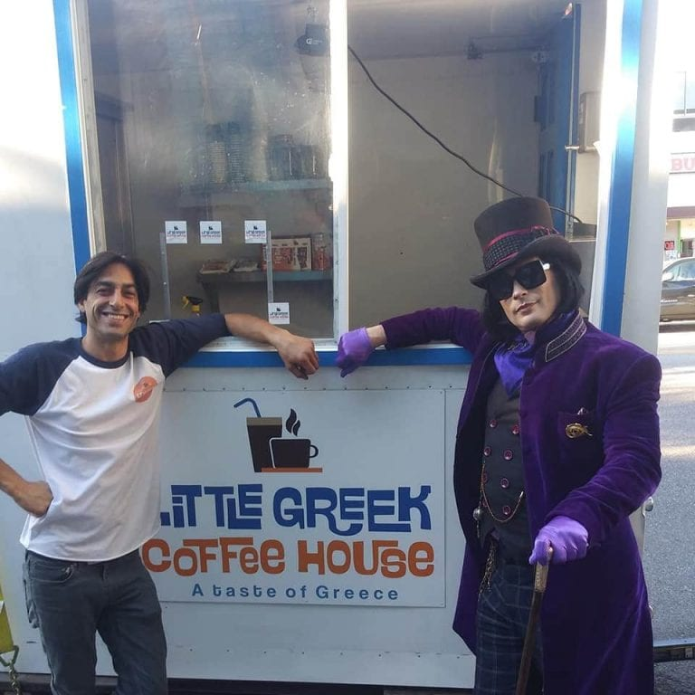 Cypriot owned coffee truck makes its debut in Los Angeles 1