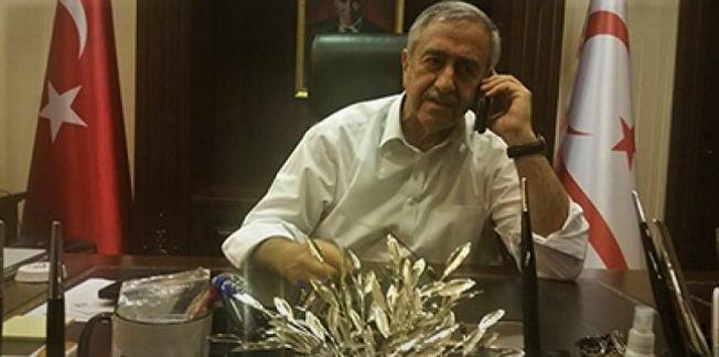 President Akıncı had a telephone conversation with Lute 1