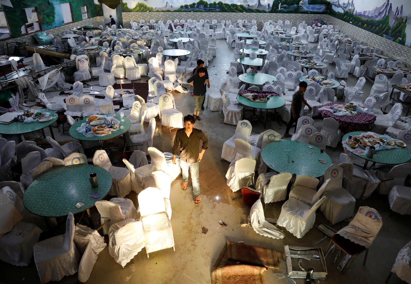Afghan wedding suicide blast kills 63, amid hopes for talks 21