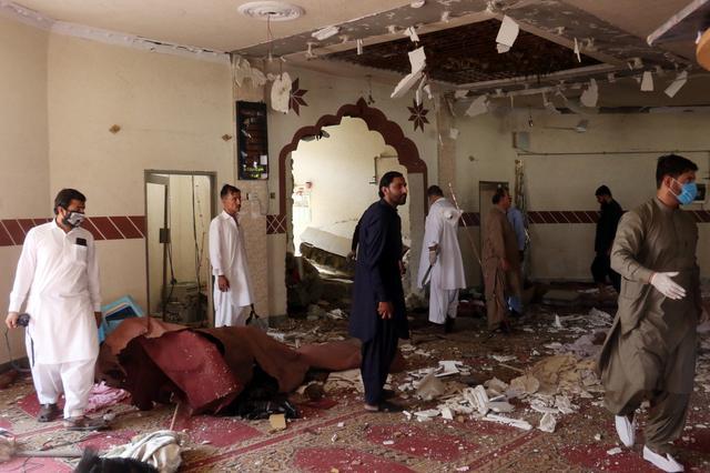Afghan wedding suicide blast kills 63, amid hopes for talks 19