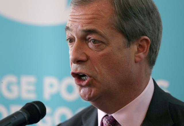 Brexit Party's Farage ridicules Harry and Meghan with jibe at UK royals 13