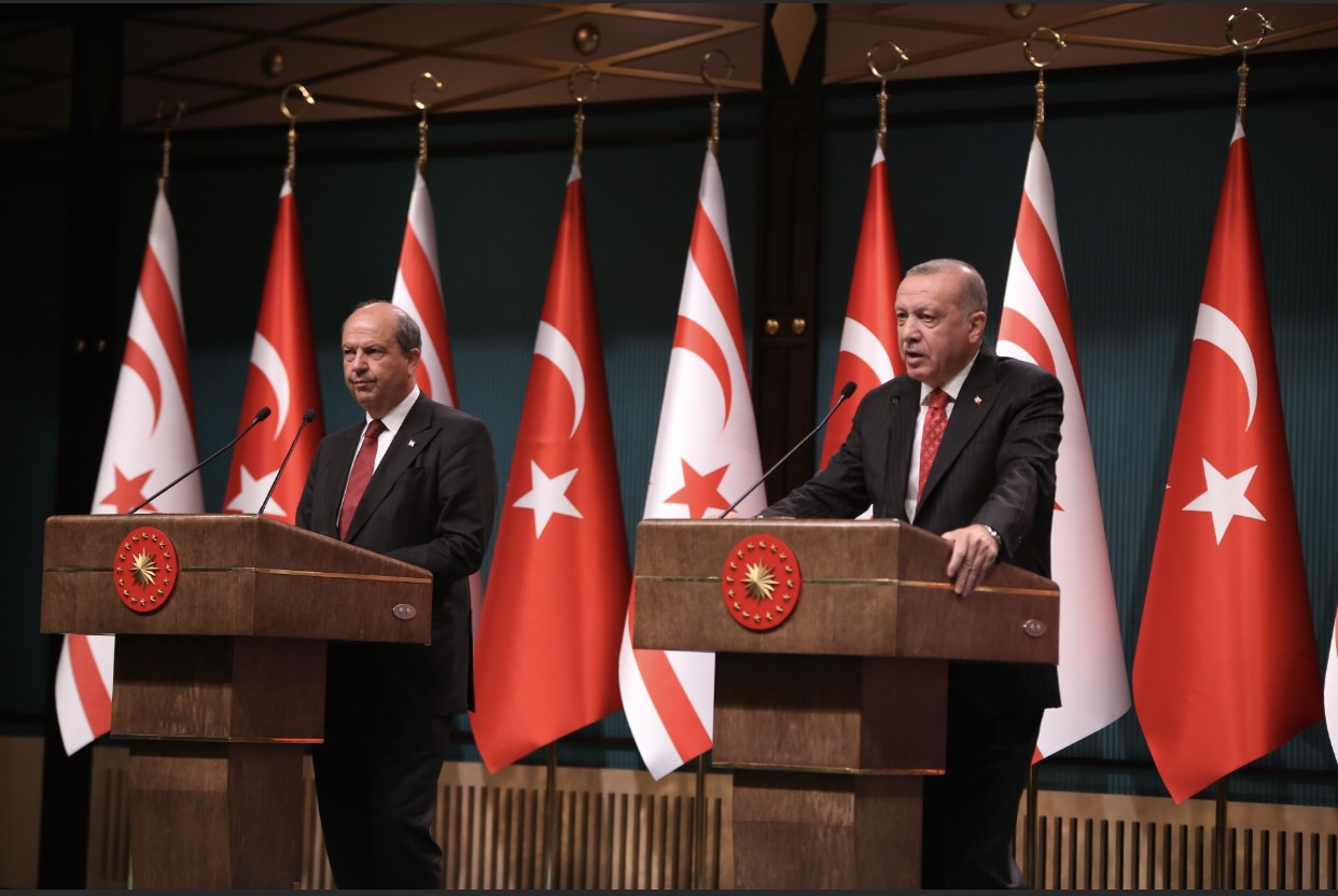 """Erdoğan: """"If the Greek Cypriot side reaches a sincere and realistic compromise"""" 13"""