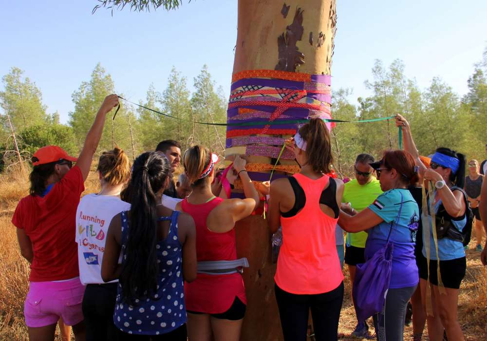Cyprus Trail Runners pay tribute to Natalie with Living Life Joyfully run 1