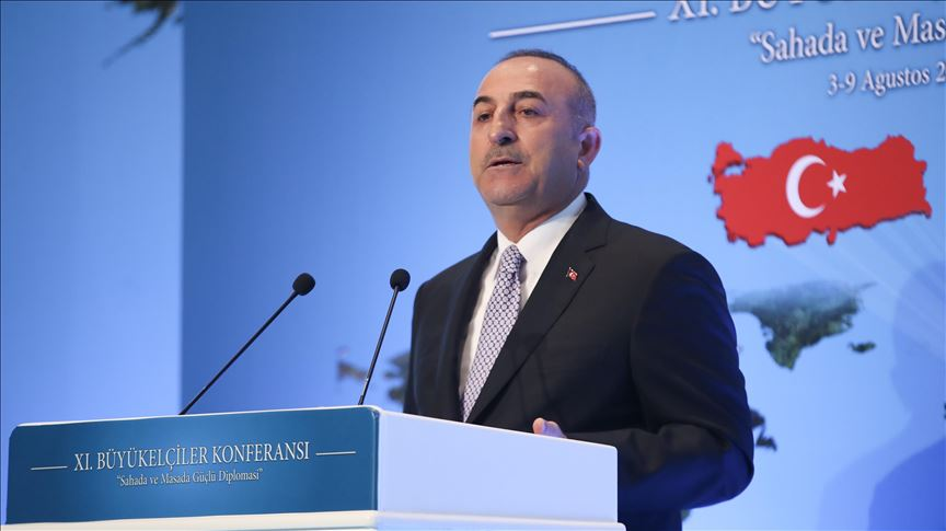 'Turkey never ignores any solutions on Cyprus' 15