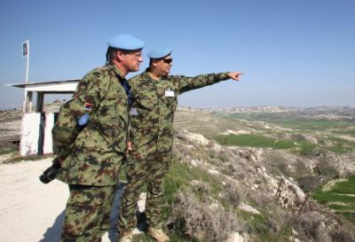 United Nations Peacekeeping Force in Cyprus cautions against hunting in the buffer zone 1