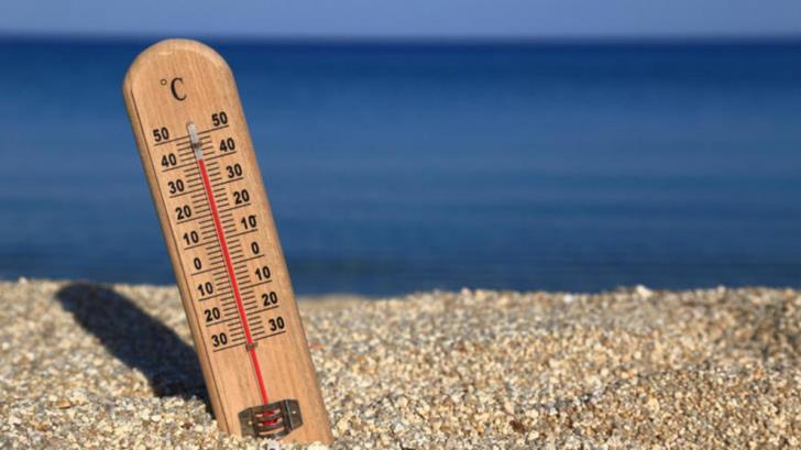 Fine and sunny, temperatures of 38 C inland 3