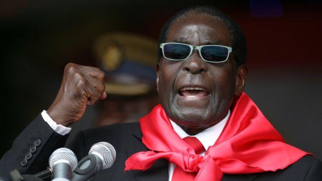 Robert Mugabe, Zimbabwe ex-president, dies aged 95 1