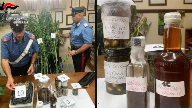 Italian chef arrested over cannabis 'was testing new flavours' 11