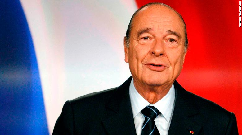 Jacques Chirac: Former French president dies at 86 1