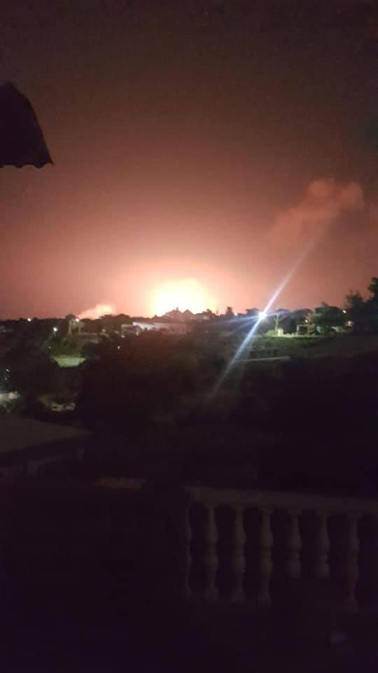 Major Explosion in Girne (Videos) 4