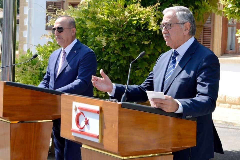 Mevlüt Çavuşoğlu and Mustafa Akinci