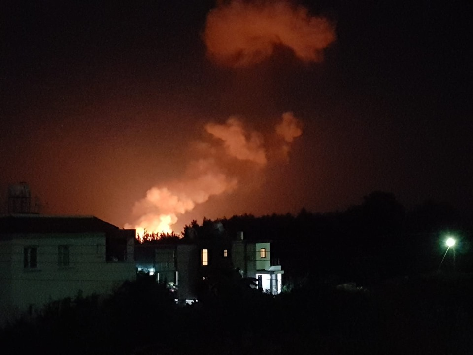 Major Explosion in Girne (Videos) 6