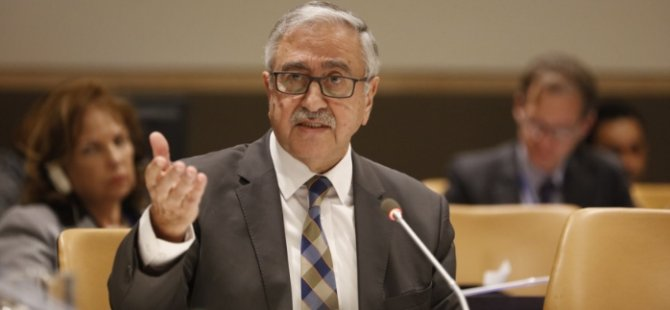 Akıncı: We came to New York not for mutual accusation but for a solution 13