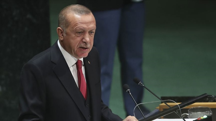 "Erdoğan: ""A solution model without the guarantee of Turkey is evil minded"" 13"