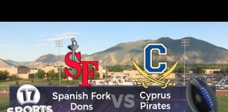 Spanish Fork vs Cyprus Football  |  August 30, 2019