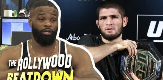 Tyron Woodley Calls Out Khabib, 'Let's Fight' | The Hollywood Beatdown