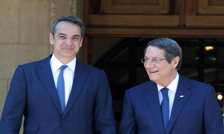 Anastasiades travels to Athens to meet with Greek PM Mitsotakis 1