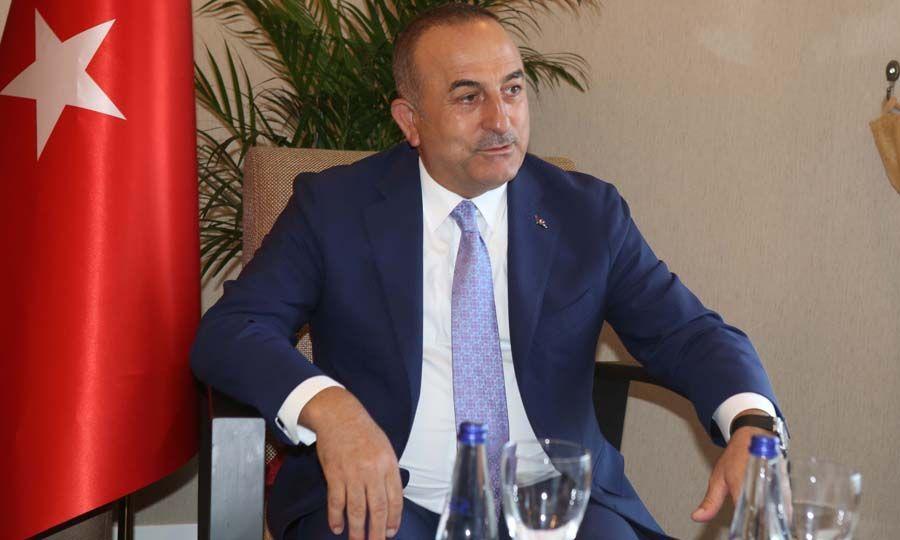 Cavusoglu speaks about the talks 1