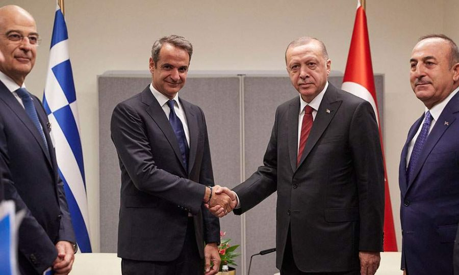 A first step in an effort to reset Greek-Turkish relations 1
