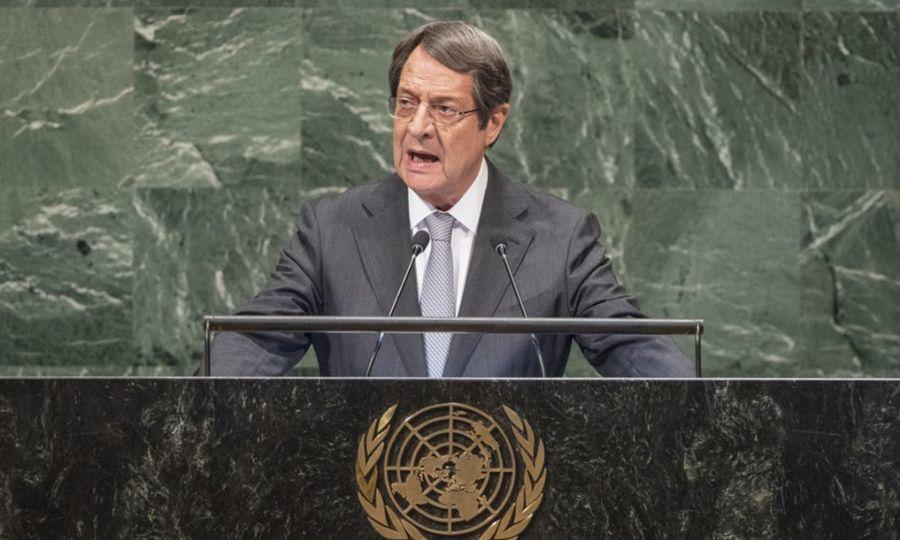 Anastasiades: We accept political equality 12