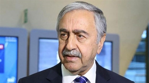 """President Akıncı: """"There are some aspects in the speech of Anastasiades that should be corrected"""" 1"""