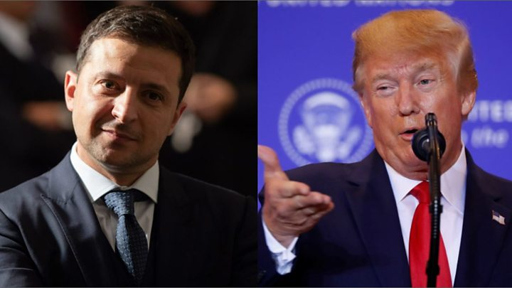 White House 'tried to cover up details of Trump-Ukraine call' 1