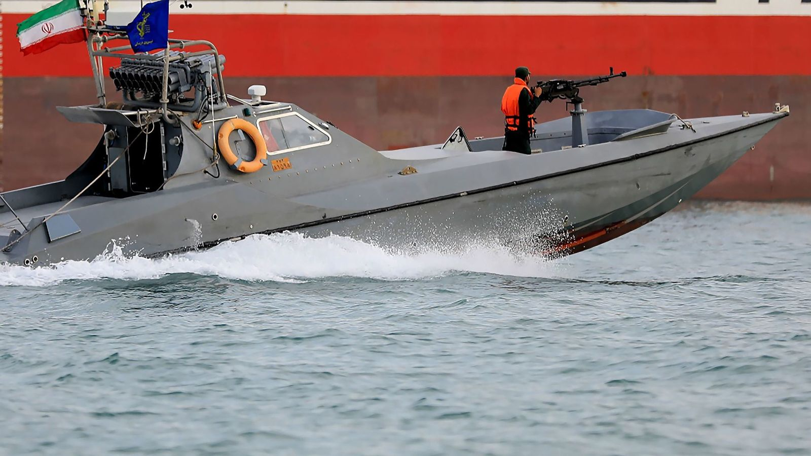 Iran Gunboat
