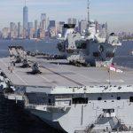 aircraft carrier HMS Queen Elizabeth