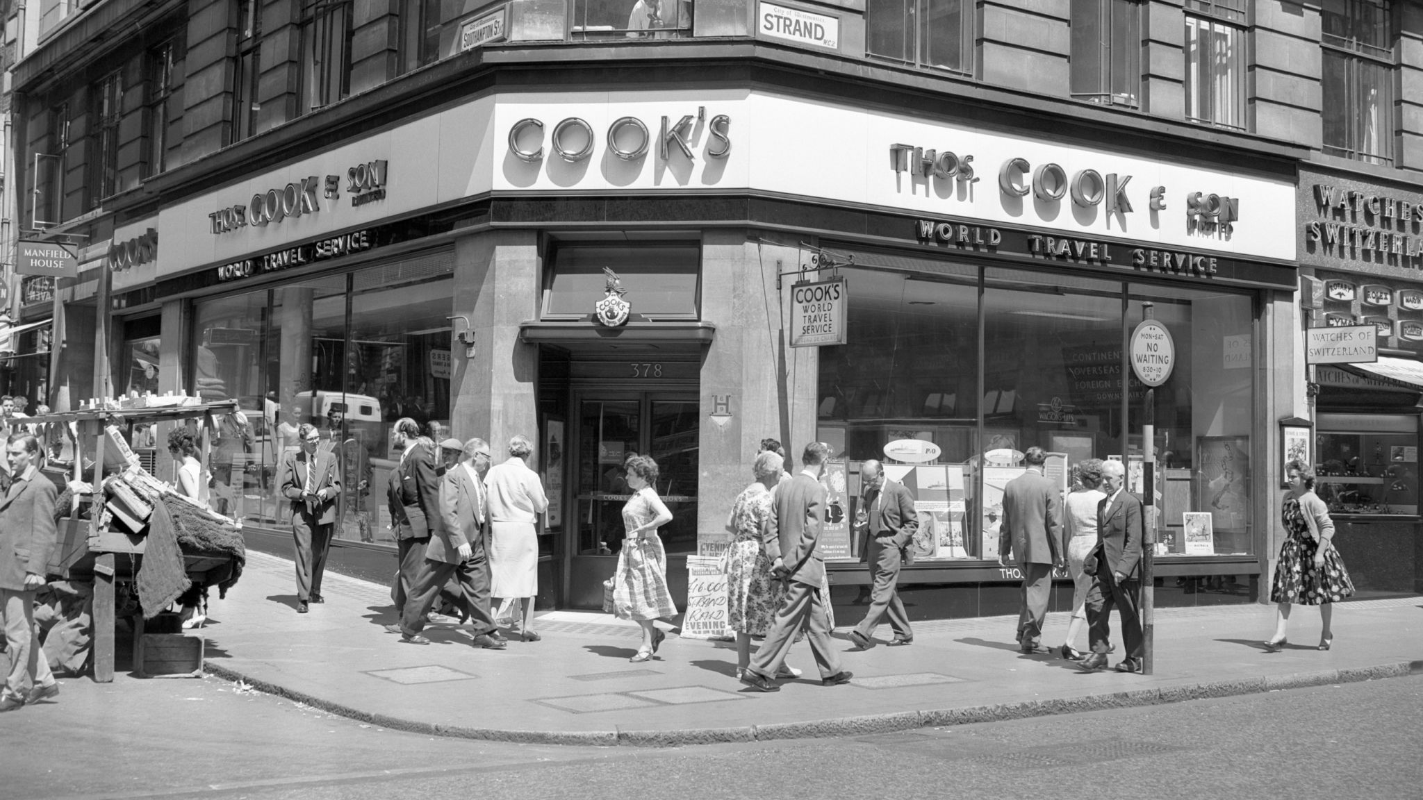 High fliers: The colourful history of Thomas Cook 1