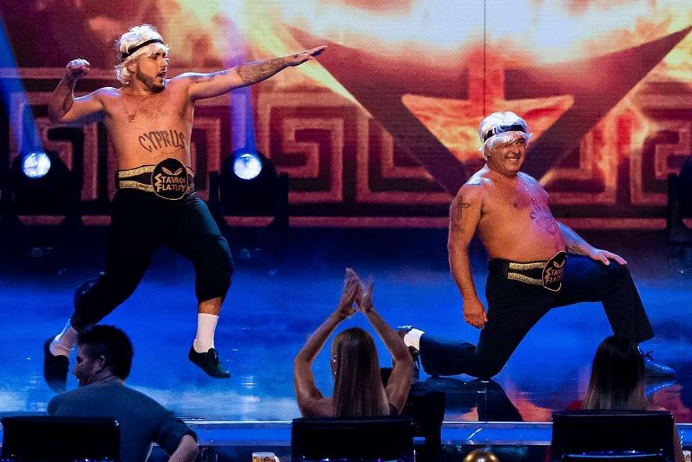 Greek Cypriot duo Stavros Flatley reaches Britain's Got Talent Champions semi finals (video) 1