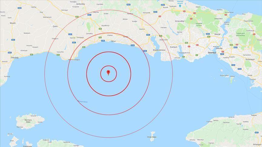 Turkey: 4.6 magnitude earthquake strikes Marmara Sea 14