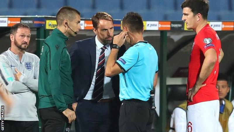 Bulgaria v England: Euro 2020 qualifier halted twice due to racist behaviour from fans 1