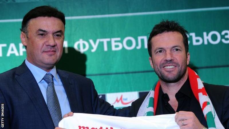 Bulgaria v England racism: Bulgarian Football Union president Borislav Mihaylov resigns 6