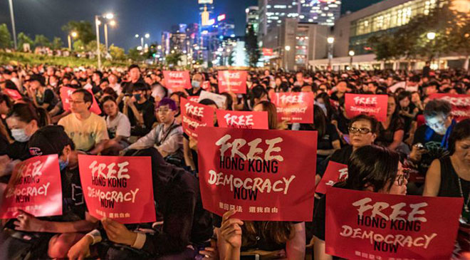 Hong Kong formally scraps extradition bill that sparked protests 14