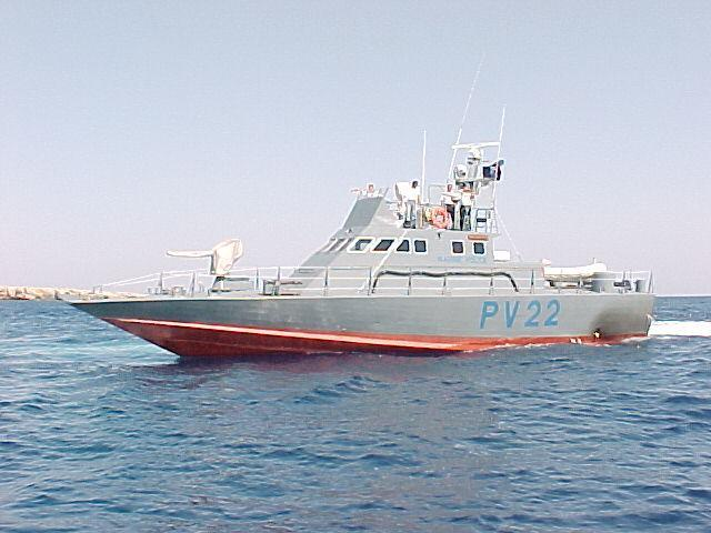 Egyptian Fishing boat within Cyprus waters 14