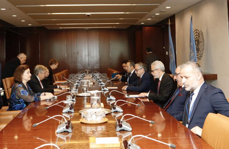 UN says SG and Turkish Cypriot President exchanged views on prospects for renewed Cyprus talks 1