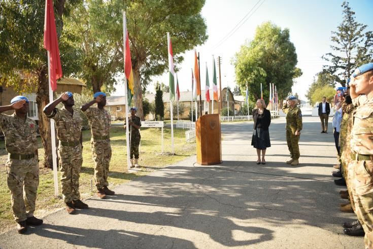 First peacekeeper from the Republic of Ghana deployed in UNFICYP 1