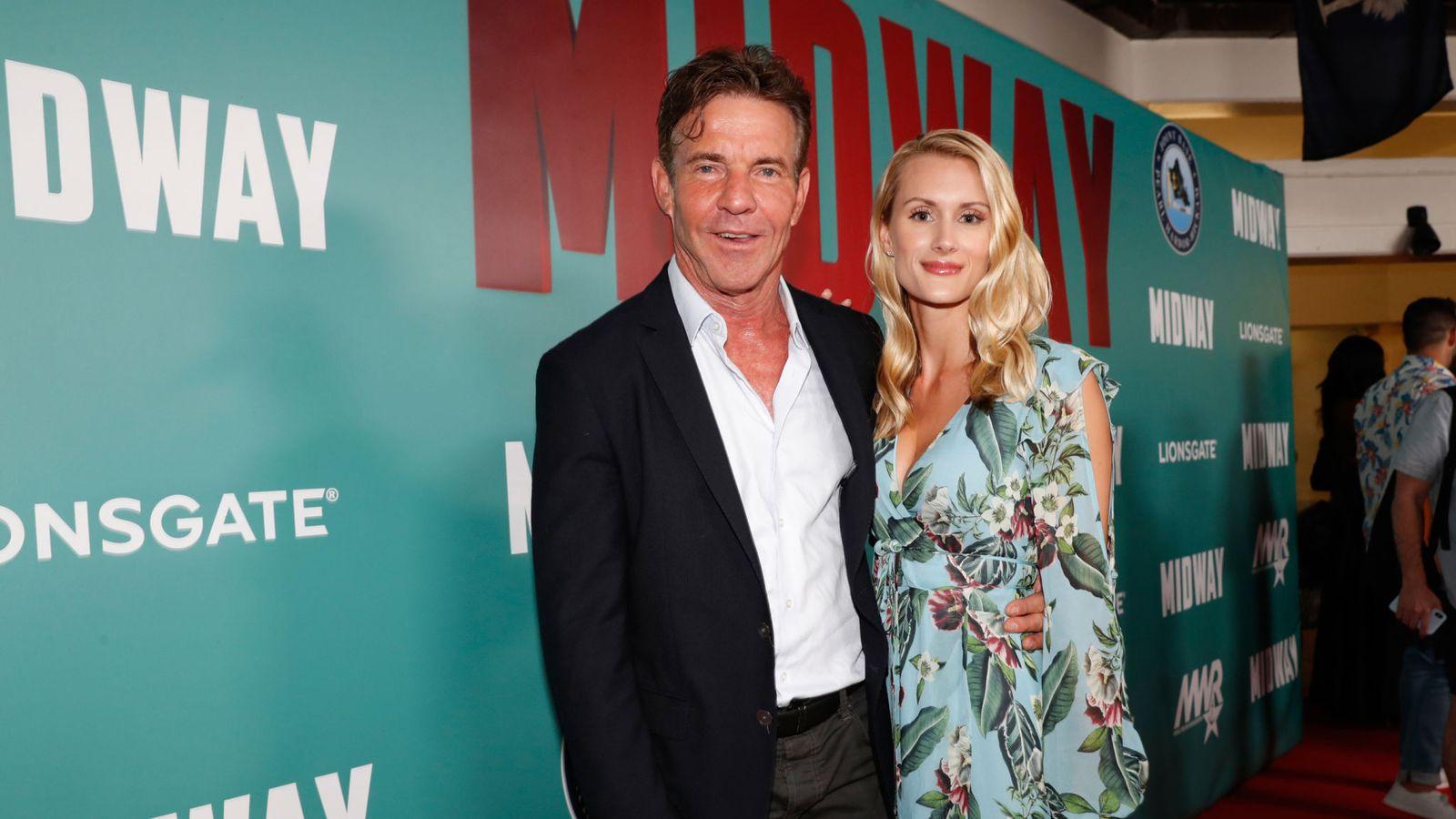 Actor Dennis Quaid announces engagement to 26-year-old girlfriend Laura Savoie 1
