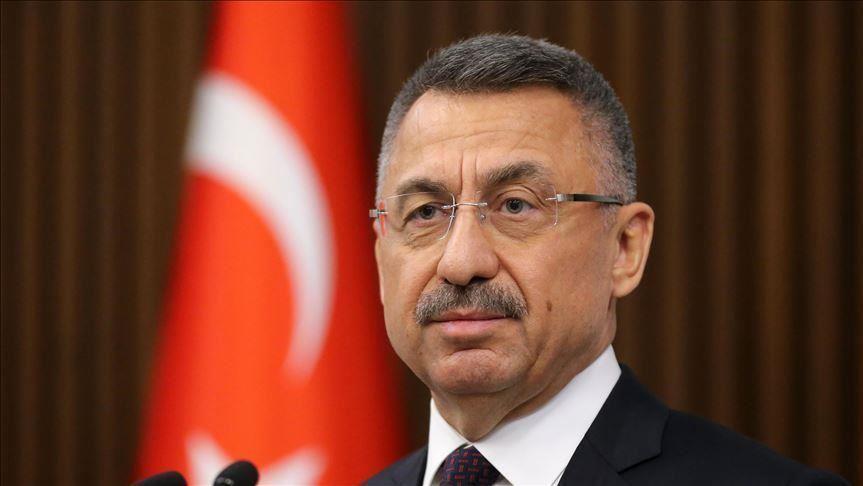 Turkey's VP condemns Turkish Cypriot leader over Syria op 1