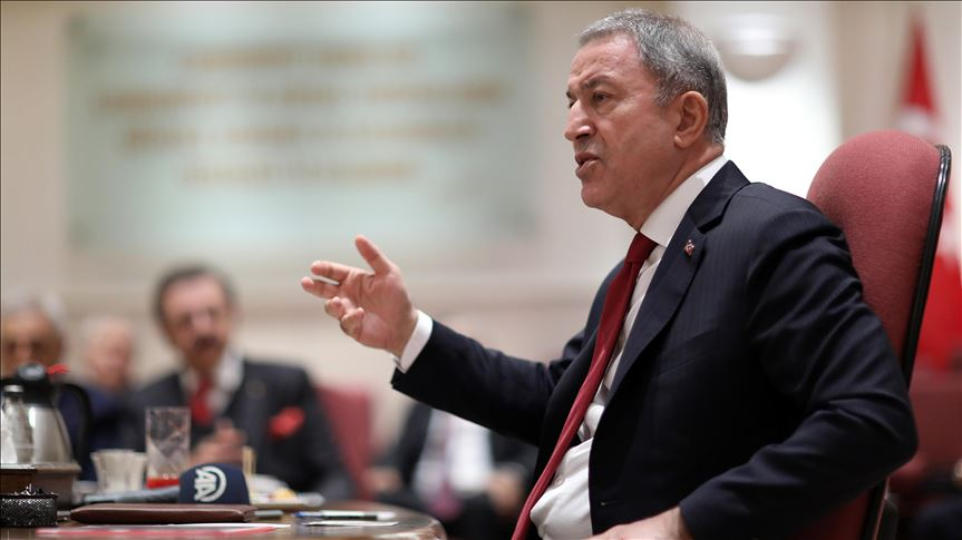 US vote against spirit of alliance: Turkish defense chief 1