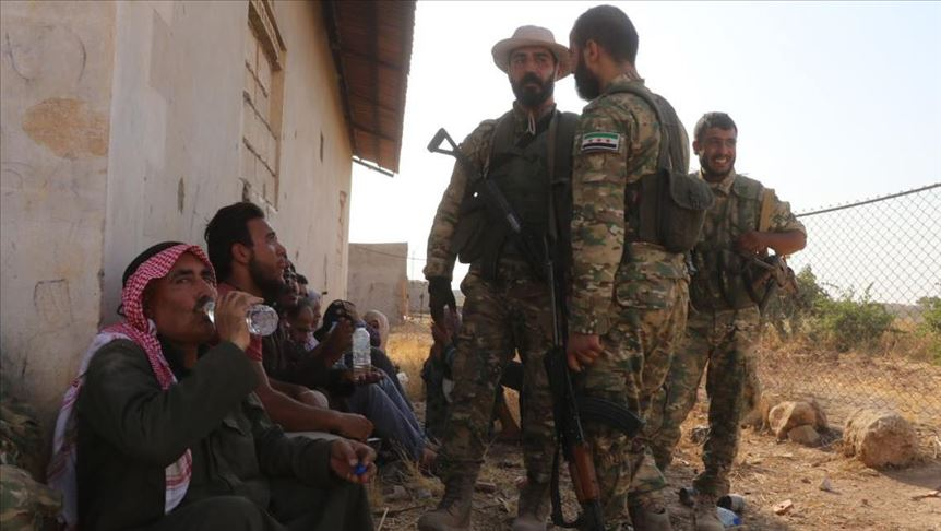 Syrian National Army guarantees civilian safety 15