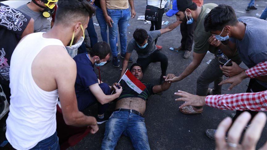 7 protesters shot dead in southern Iraq 11