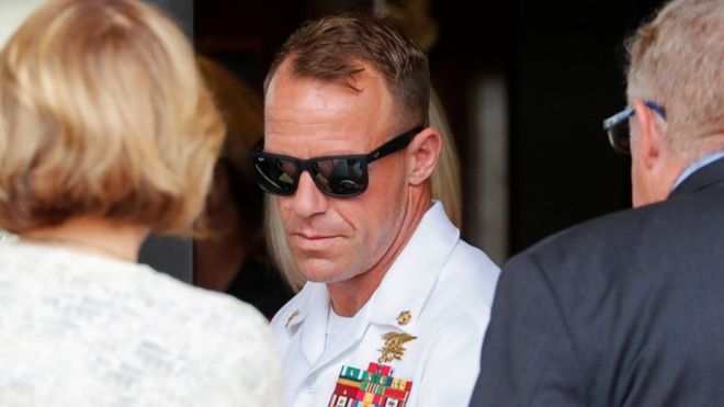 Edward Gallagher: Sailor cleared by Trump could be ousted from Seals 1