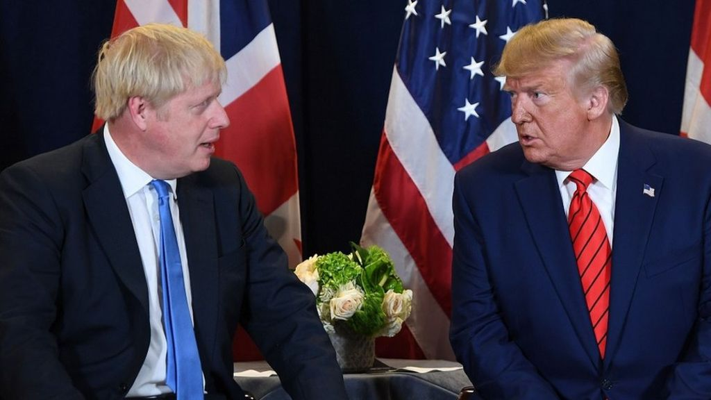 No 10 defends Brexit deal after Trump criticism 11