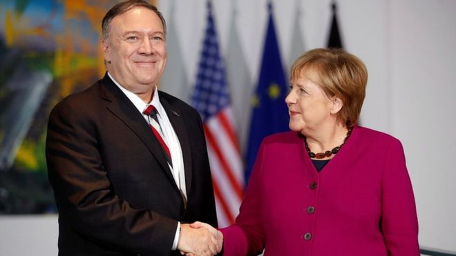 Pompeo attacks Russia and China in Berlin speech 5