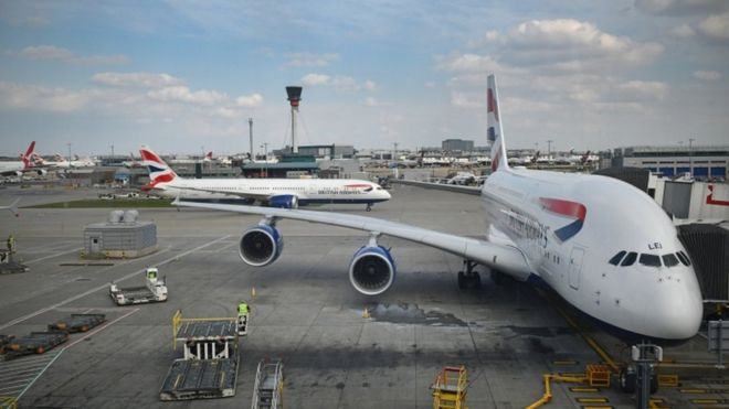 Climate change: Airlines accused of 'putting profit before planet' 10