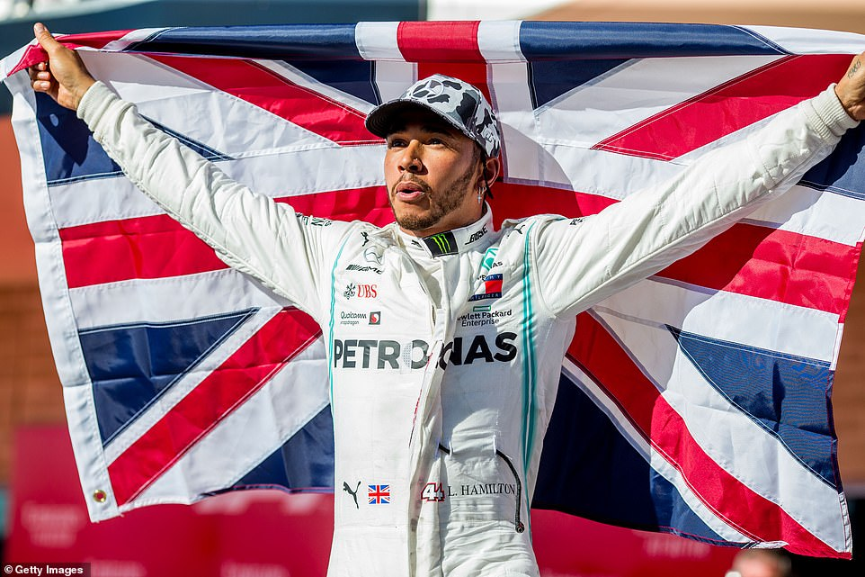 Lewis Hamilton wins sixth F1 world championship at United States Grand Prix 1